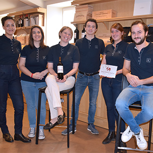 13/11/2019 - Château Tour Saint Christophe awarded the Best of Wine Tourism in the category